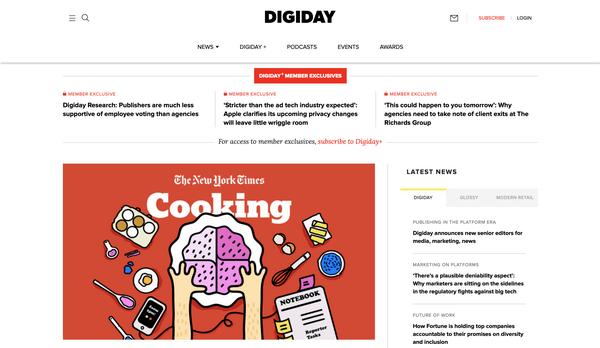 DigiDay — новостной дайджест digital-индустрии