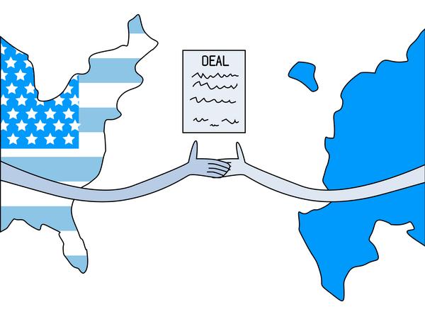 Оформление деловых отношений на Западе