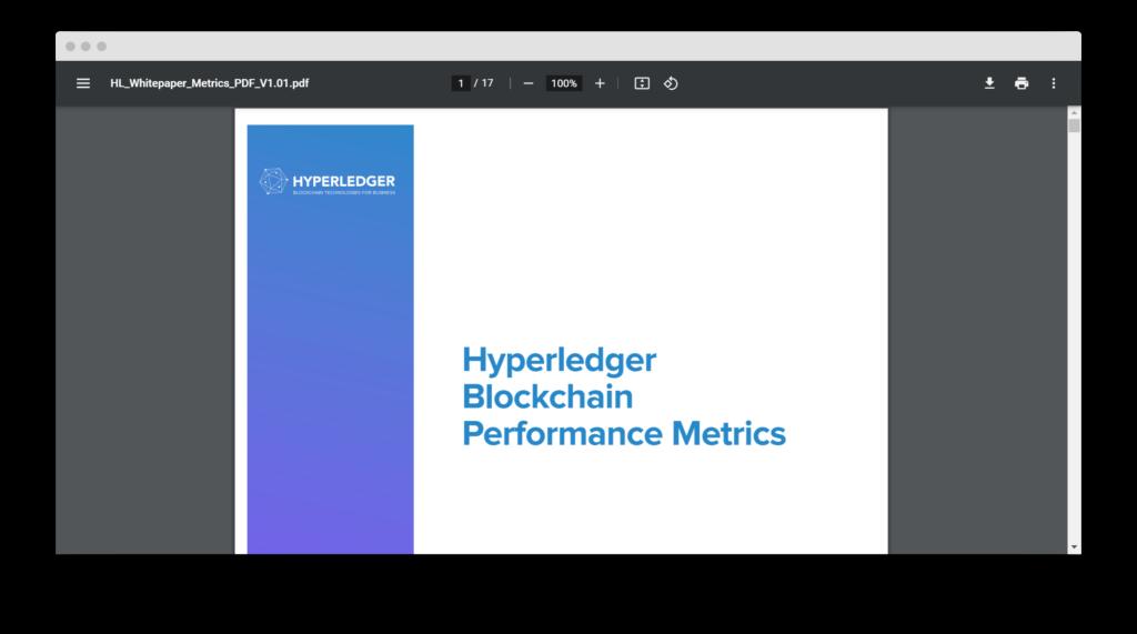 Белая книга от Hyperledger