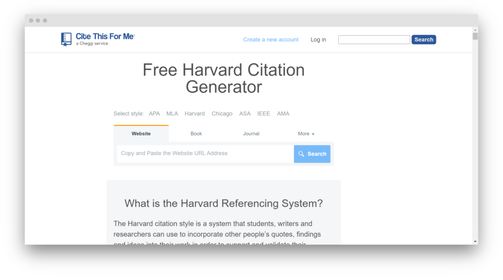 Сервис Citation Generator