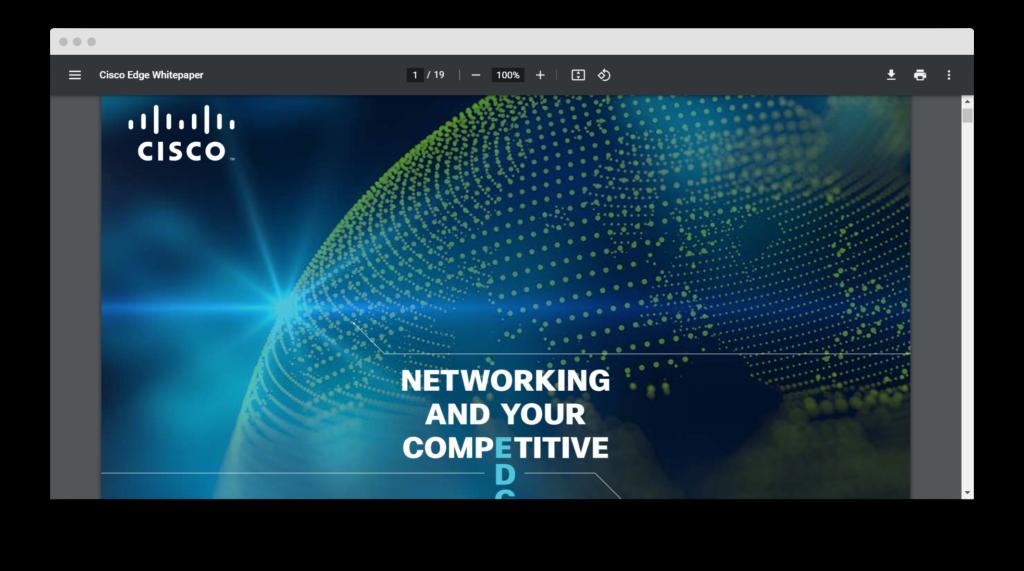 White Paper от Cisco