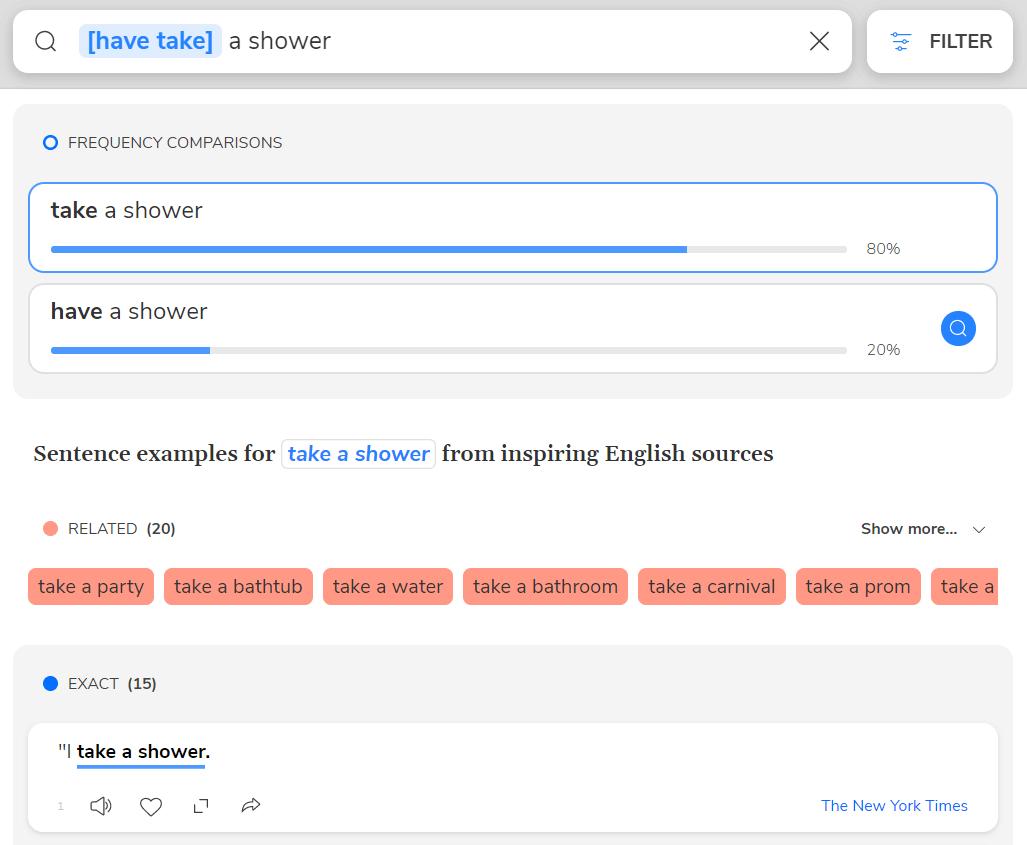 Подбор правильных словосочетаний
